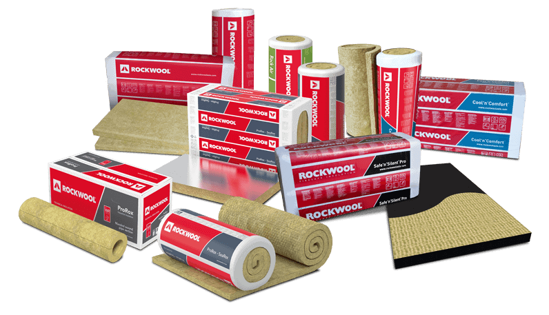 The Product of ROCKWOOL Insulation